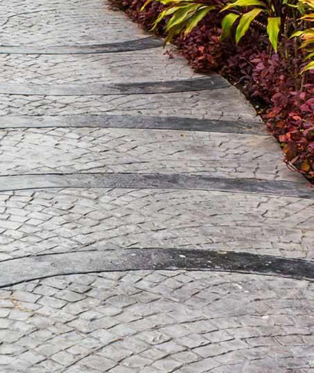 Well Grounded Landscape Design Build LLC Decorative Concrete