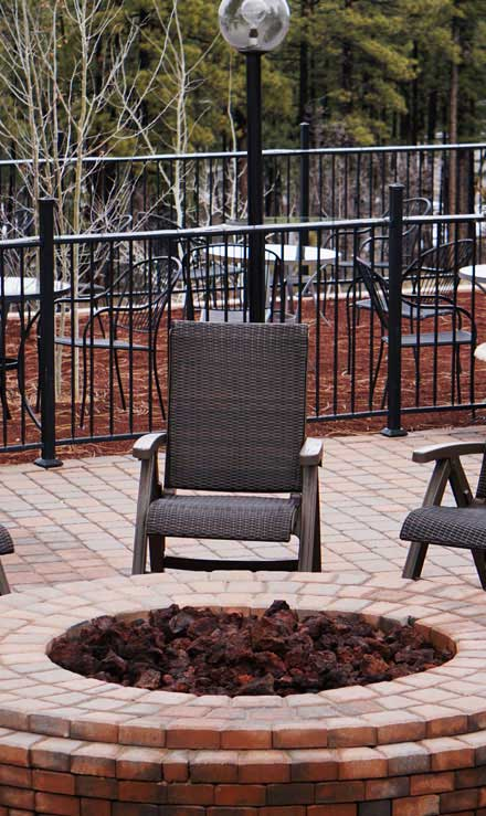 Well Grounded Landscape Design Build LLC Outdoor Fire Pits