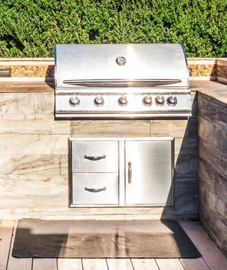 Well Grounded Landscape Design Build LLC Outdoor Kitchen Services