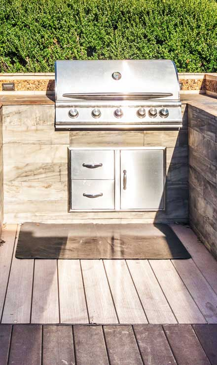 Well Grounded Landscape Design Build LLC Outdoor Kitchen