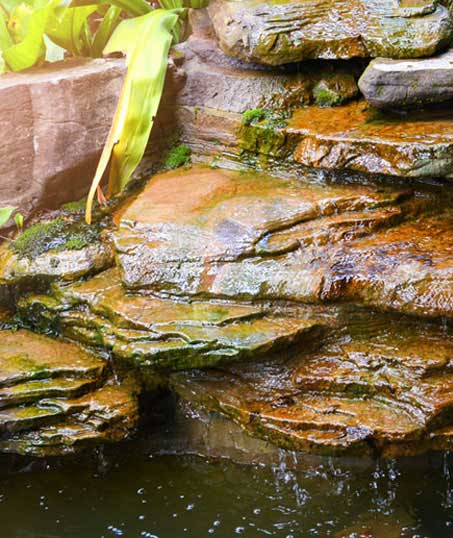 Well Grounded Landscape Design Build LLC Commercial Water Features