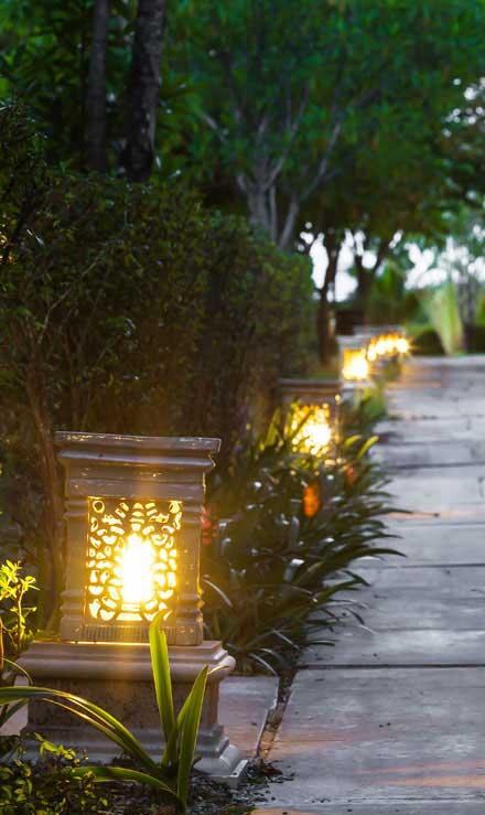 Well Grounded Landscape Design Build LLC Residential Landscape Lighting